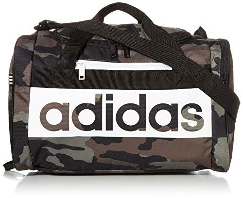 adidas Unisex Court Lite Duffel Bag, Legacy Green Camo/Black, ONE SIZE