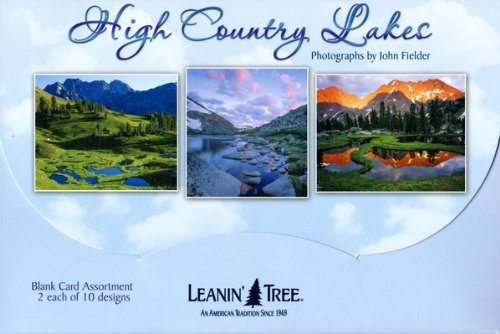High Country Lakes by John Fielder [AST90765] Blank Card Assortment - 20 Cards with Full-Color interiors and 22 Designed envelopes