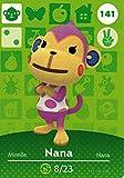 Nintendo Animal Crossing Happy Home Designer Amiibo Card Nana 141/200 USA Version