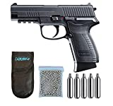 Outletdelocio.. Pistola perdigon Umarex UX HPP Co2 4,5mm. Blowback. + Funda Portabombonas + Balines + Bombonas co2. 23054/29318/13275