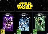 Star Wars Trilogie - Die Fortsetzung: Eine neue Hoffnung (4) + Das Imperium schlägt zurück (5) + Die Rückkehr der Jedi-Ritter (6) [3-DVD]