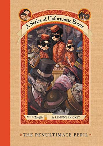 A series unfortunate events: A Series of Unfortunate Events #12: The Penultimate Peril [Lingua inglese]
