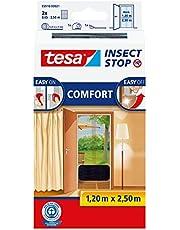 tesa Insect Stop Comfort Vliegenhor - Insectenhor voor deuren - Maak van jouw deur een hordeur met deze muggenhor