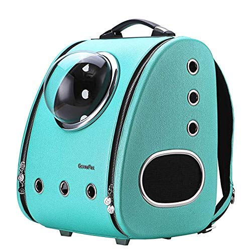 Pet Carrier Backpack airline approved carrier Cat Carrying Carrier Backpack Bubble Sporty Pet Carrier Travel Backpack Cats Dogs Puppy Innovative Fashion Bubble Pet Travel Carrier Backpack Cats Dogs Pu