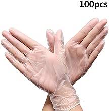 S//M//L//XL Guantes MoneRffi 101 PC guantes desechables Guantes de PVC desechables Guantes de cocina guantes de cocina Guantes duraderos antial/érgicos