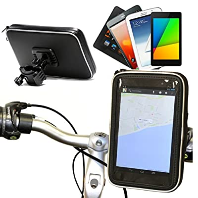 Navitech Cycle / Bike / Bicycle Waterproof Holder Mount & Case For 7 Inch Tablets Including The Google Nexus 7 / Google Nexus 7 2 FHD 2013