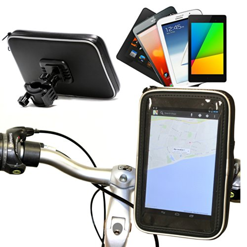 Navitech Cycle/Bike/Bicycle Waterproof Holder Mount & Case Compatible With The 7 Inch Tablets Including The Acer Iconia Tab 7 A1-713 / Acer Iconia Tab 7 A1 HD/Acer Iconia One 7