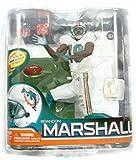McFarlane NFL Miami Dolphins Series 26 Brandon Marshall Action-Figur, weiße Uniform