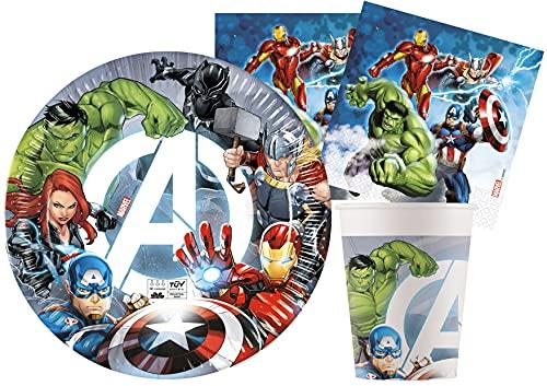 Ciao- Avengers Kit Mesa Fiesta, Multicolor (Y6170)