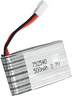 Fytoo New Type 3.7V 1200mAh Lipo Battery and 5 in 1 Charger for Syma X5HW X5HC RC Quadcopter Drone Aircraft Battery Ultra-high Capacity Spare Parts