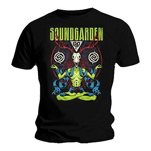 Soundgarden Camiseta - Para Hombre Negro Negro Small