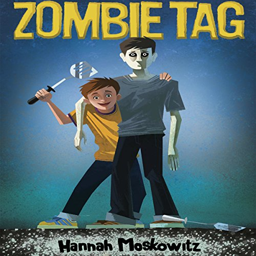 Zombie Tag audiobook cover art