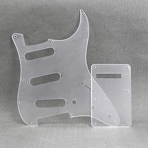 Slagplaat voorbedraad Een Set Van 11-gat SSS-gitaar Pickguard Backplaat En Schroeven, Geschikt Voor Stratocaster Stijl…