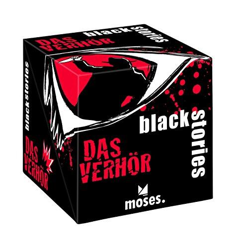 moses. black stories - Das Verhör   Deduktionsspiel für die ganze Familie   Ab 12 Jahren