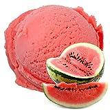 Sabor de melón de agua 1 Kg Helado de hielo Gino Gelati para helado de fruta Helado suave Helado en polvo