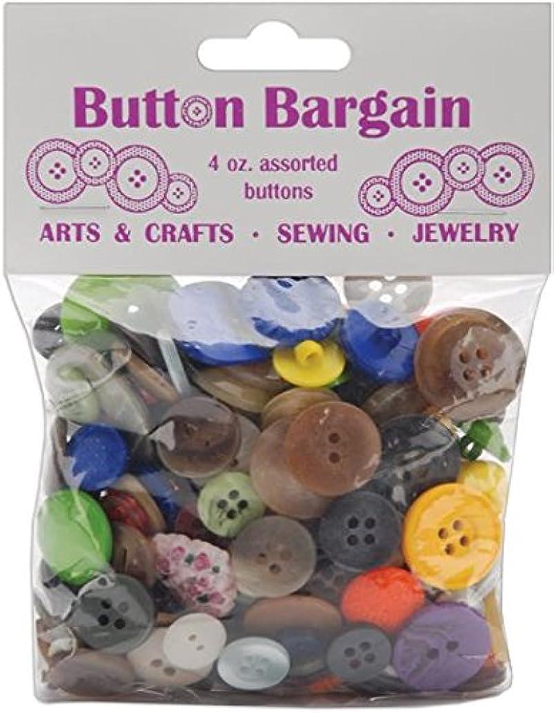 Blumenthal Lansing Button, 4-Ounce, Bargain, Assorted