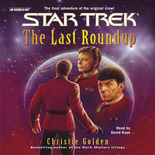 Star Trek: The Last Roundup (Adapted) audiobook cover art