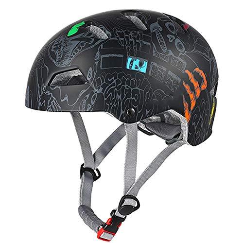 Claean-Acces-Home CascoPlegable Casco de Ciclismo Adultos Hombres Mujer Al Aire Libre Multi-Deporte...
