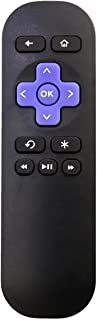 Allimity Replacement Remote Control fit for Roku Streaming Media Player Roku 1 2 3 4 LT HD XD XS Telstra TV1 TV2, Do Not S...