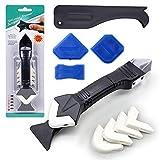 Caulking Tool Kit, 3 in 1 Caulking Tools(stainless steelhead) Silicone...