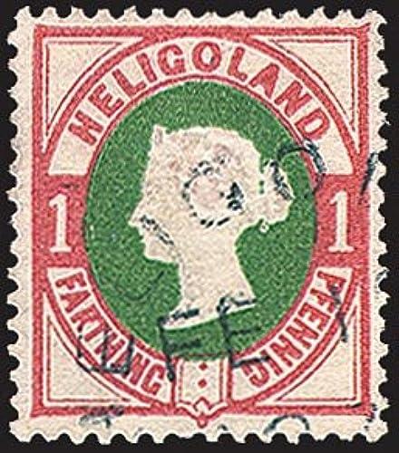 Goldhahn Helgoland Nr. 11 gestempelt Briefmarken für Sammler