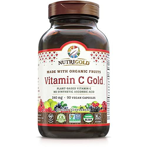 Organic Vitamin C Gold, Whole-food Vitamin C Supplement from Organic...