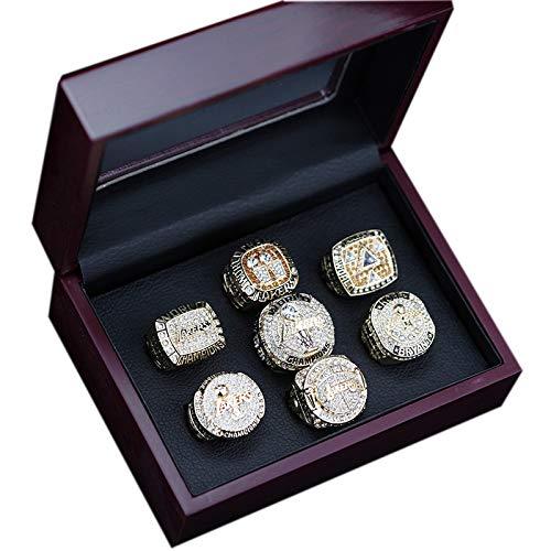TYTY 2020 NBA Los Angeles Lakers Memorial Championship Ring Set Anillos de Campeonato Personalizado para Fanáticos Día de San Valentín,with Box,10#