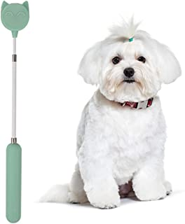 Licogel Animals Long Accessory Wand Pet Training Stick Silicone Flexible Soft Interactive Retractable Cat Stick for Dog