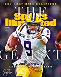 Joe Burrow Reprint Signed 11x14 Sports Illustrated Cover LSU Tigers Poster Print Photo Geauxt