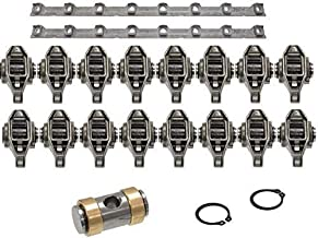 Michigan Motorsports LS1 Rocker Arms with upgraded Bronze Bushing Trunion Kit Includes LS1 Rocker Arm Support Pedestal Stands Pair 4.8 5.3 5.7 6.0 LS1 LS2