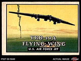 1952 Topps # 145 YRB-49A Flying Wing (Card) Dean`s Cards 3 - VG