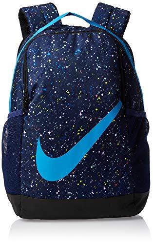 Nike Y Nk Brsla Bkpk - Aop Ho19 Rucksack Unisex Kinder Einheitsgröße Blauer Hohlraum (blue void)/Blauer Hohlraum (blue void)/blauer Sternenstaub