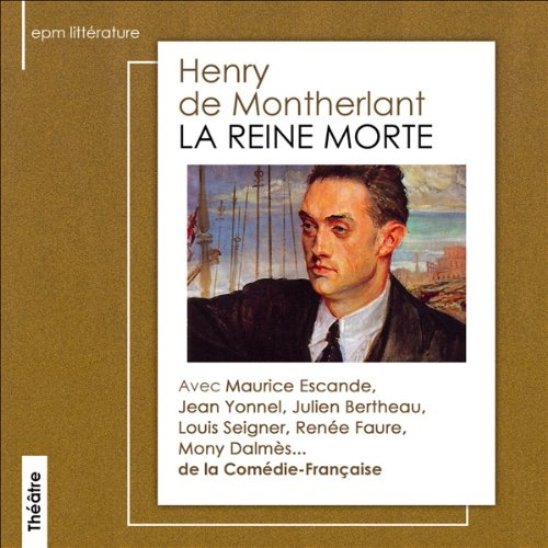 La reine morte audiobook cover art
