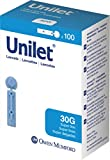 Owen Mumford Unilet Super Thin Lancets (30G), 100 Count