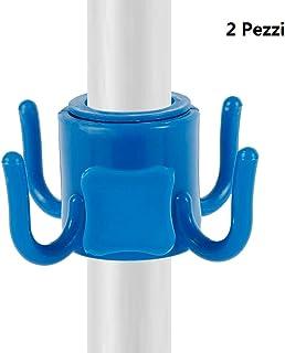 Funihut Gancio di Sospensione per ombrellone da Spiaggia a 4 Ganci Gancio di Sospensione in plastica per Ombrello