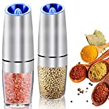 AerWo Gravity Electric Salt and Pepper Grinder...