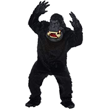 California Costumes 01425 - Disfraz de Gorila para Hombre, Negro ...