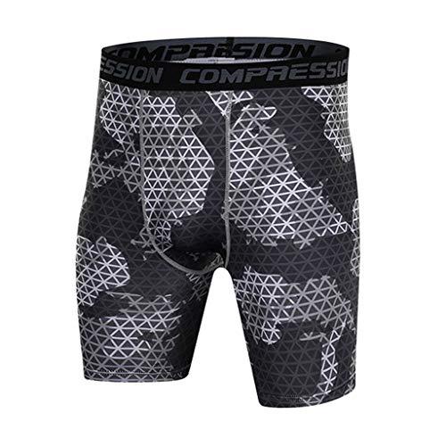 Hommes Short de Bains, Manadlian Pantalon de Sport Running Short de Plage Pants Short de Musculation à Séchage Rapide Maillot de Bain
