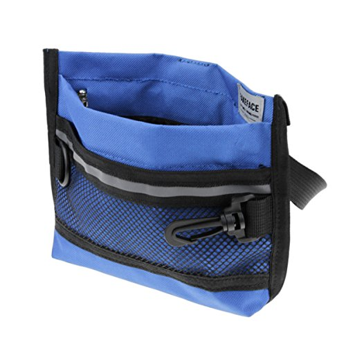 Find Discount Fakeface Pet Traning Treat Pouch Waist Snack Bag Food Treat Storage Holder for Train P...