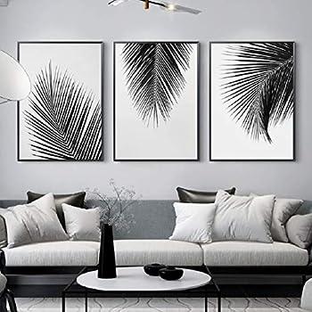 jjshily Bianco e Nero Che Si tengono per Mano Arte della Parete Pittura modulare su Tela Nordic Poster Stampe su Tela Immagini della Parete dellamanteNessuna Cornice