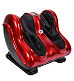 JSB Leg Foot and Calf Massager Machine for Pain Relief (With Airbag Massage Golden-Red)