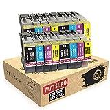 Matsuro Original | Compatible Cartuchos de Tinta Reemplazo para Brother LC1280XL LC1240XL LC1280 LC1240 (4 Sets)