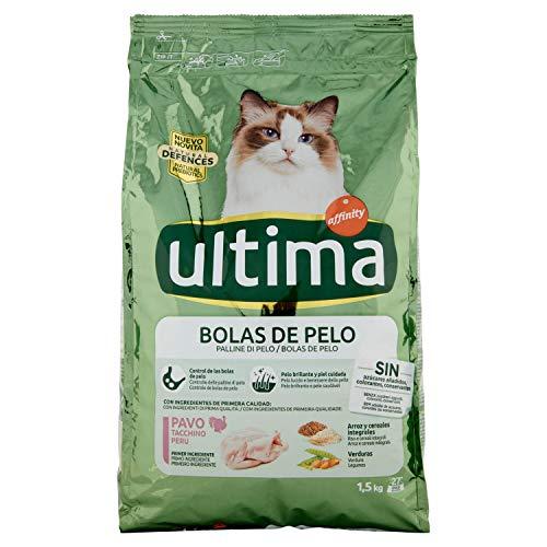 Ultima Cibo per Gatti con Controllo delle Paline di Pelo - 1.5 kg