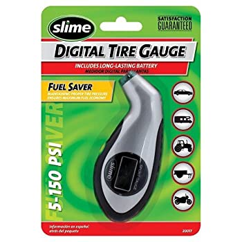 Slime Sport 5-150 PSI Digital Tire Gauge with Light