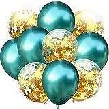 Miwaimao Landia 10 unids/Lote Confeti Mixto Globos metálicos Decoraciones para Fiesta de cumpleaños niños Baby Shower Juguetes Globos Suministros de decoración de Boda