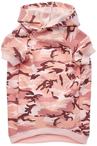 Casual Canine Camo Hoodie for Dogs, 20' XL, Pink
