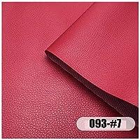 77SRF フェイクレザーファブリックフェイクレザー防水防炎ソファカーシートは、室内装飾品フェイクレザーフェイクレザービニールファブリックはメーターでサイズで販売カバー:1.60mX1m(5.2X3.2ft) RENFU (Size : 5M)