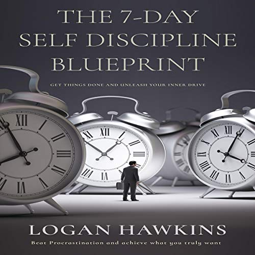 Page de couverture de The 7-Day Self Discipline Blueprint
