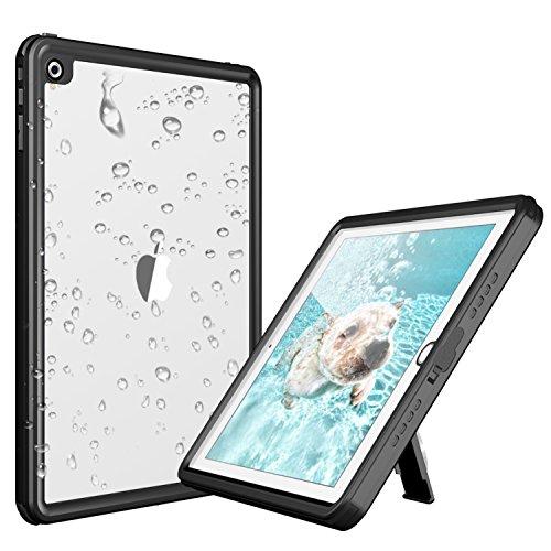 Deepsonic iPad 2017/2018 防水ケース タブレットケース 9.7インチ対応 耐衝撃 IP68防水規格 水場 薄型 全...