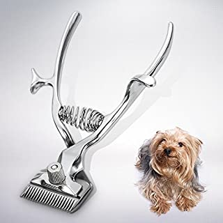 HYLong animal pet cat dog hand hair trimmer shaver razor grooming manual clipper (Color:
